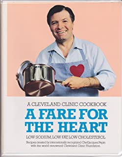 A Cleveland Clinic Cookbook: A Fare for the Heart [Book and VHS Set] (Low Sodium, Low Fat, Low Cholesterol, Recipes Created by the Internationally Recognized Chef Jacques Pepin with the World-Renowned Cleveland Clinic Foundation)