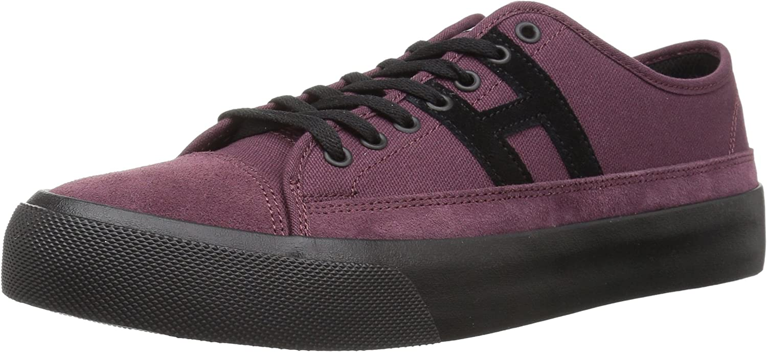 HUF Men's Hupper 2 Lo Skate schuhe, Deep Deep Deep Wine, 12 Regular US  24de5d