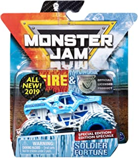 MJ 2019 Monster Jam Fire & Ice Soldier Fortune Special Edition 1:64 Scale