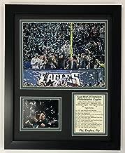 Legends Never Die NFL Philadelphia Eagles Super Bowl 52 Champions Framed Photo Collage, Team Color, 12 x 15
