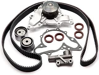 SCITOO TBK323 Timing Belt Kit Water Pump with Hydraulic Tensioner Fits 00-06 Hyundai XG350 Santa Fe Kia Sedona 3.5L 3.5