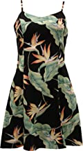product image for Paradise Found Womens Bird of Paradsie #5 (2011) Princess Seam Mini Sundress in Black - L