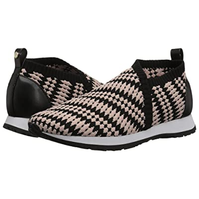 Taryn Rose Caren (Black/Chai Geo Knit) Women