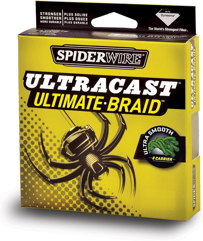 Spiderwire Angelschnur Ultracast invisi-Braid B00EBB72R8  Räumungsverkauf