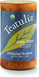 Organic Earl Grey 6 units x 30 Unwrapped Standard Tea Bags