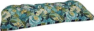 Brentwood Originals Indoor/Outdoor Loveseat Cushion Brentwood, Robyn Point Aqua, 1 piece