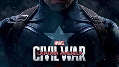 Captain America Civil War Movie Poster Wall Art Canvas Print Decor by CanvasBy 70x39cm / 3.5cm Deep