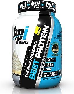 Bpi Sports Best Protein Advanced 100% Protein Formula, Vanilla Swirl, 2 Pound
