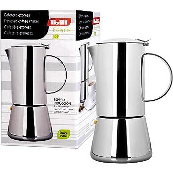 IBILI 620310 - Cafetera Express Essential INOX 10 Tazas: Amazon.es: Hogar