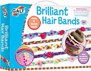 Galt Brilliant Hair Bands,Craft Kit