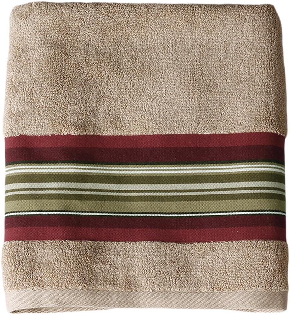 SKL Omaha Spring new work Mall Home by Saturday Knight Ltd. Towel Bath Madison Red Stripe