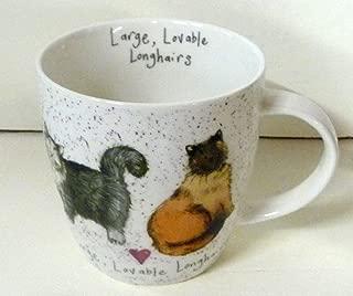 Alex Clark Squash Mug Charismatic Cats - Large, Lovable Longhairs