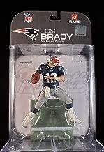 Tom Brady #12 New England Patriots Blue Jersey Dirty Uniform McFarlane NFL Wave 2 2008