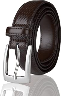 أحزمة للرجال حزام إبزيم حزام جلد طبيعي مخيط زي حزام
