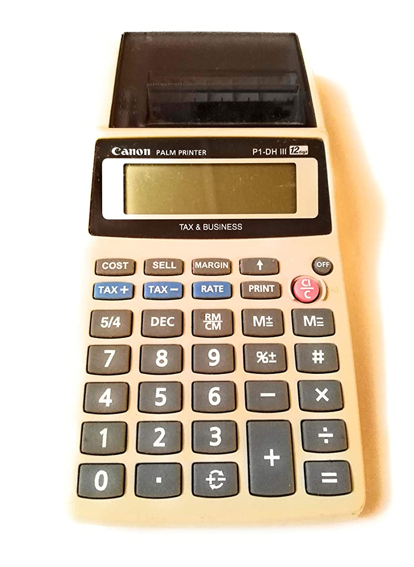 Canon P1-DH III Palm Size Printing Calculator