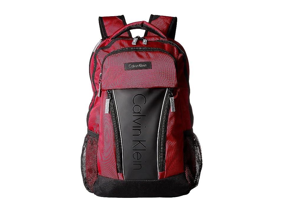 Calvin Klein C-146 Backpack (Red) Backpack Bags