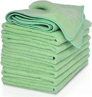 white cleaning cloths by VibraWipe