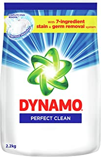Dynamo Powder Perfect Clean Laundry Detergent, Regular, 2.2kg