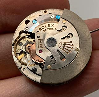 ROLEX CALIBERS AND FREQUENCY (from 1930 to 1960)