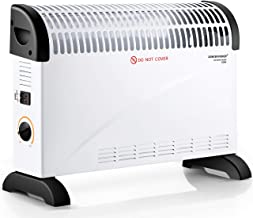 DONYER POWER Convector Radiator Heater 2000W Room Heating with Adjustable Thermostat