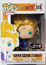 Funko Pop Dragonball Z Super Saiyan 2 gohan #518 vinyl figure gamestop exclusive