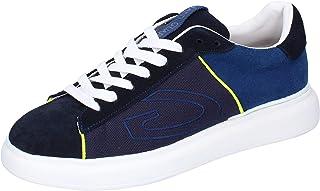 GUARDIANI Sneaker Uomo Pelle Scamosciata Blu