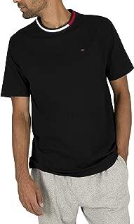 TOMMY HILFIGER Men's Logo T-Shirt, Black