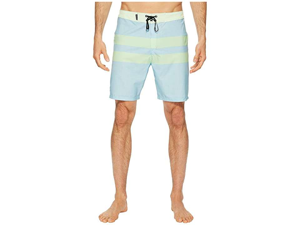 Hurley Phantom Blackball 18 Boardshorts (Ocean Bliss) Men