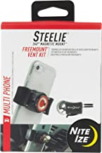 Nite Ize Original Steelie FreeMount Vent Kit - Adjustable Magnetic Bracket + Car Vent Mount for Smartphones
