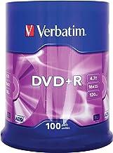 Verbatim 43551 - DVD+R vírgenes (100 Unidades, 4.7 GB, 16x)