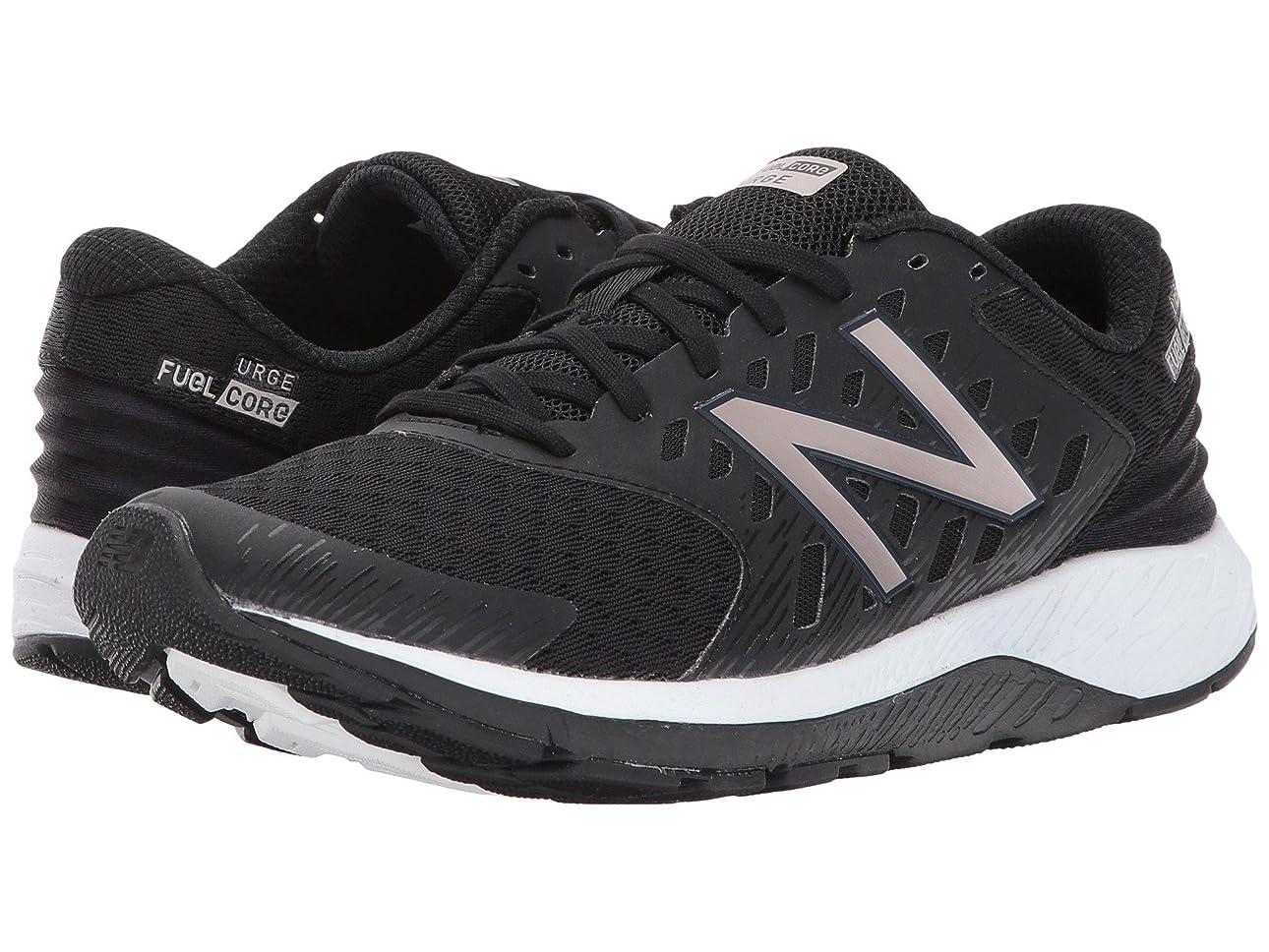 一晩ビジター乱暴な(ニューバランス) New Balance レディースランニングシューズ?スニーカー?靴 FuelCore Urge v2 Black/Champagne Metallic 10.5 (27.5cm) D - Wide