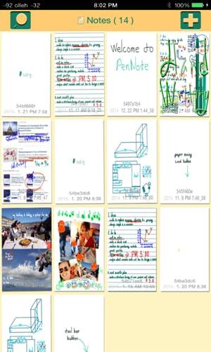『ペン ノート Pro - 手書き メモ帳, お絵かき 手帳, 写真 描く ブック』の3枚目の画像