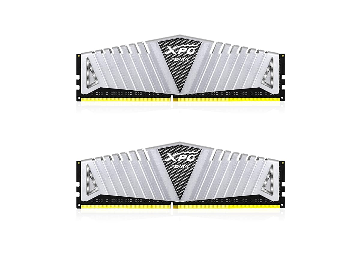 XPG Z1 DDR4 2400MHz (PC4 19200) 16GB (2x8GB) Gaming Memory Modules, Silver (AX4U240038G16-DSZ1)