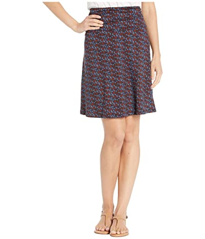 Toad&Co Chaka Skirt (True Navy Floral Print) Women