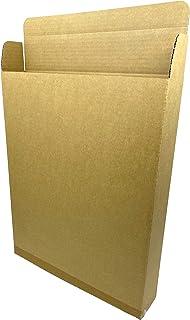 強化ダンボール 75サイズ(80サイズ対応) 【10枚セット】 (キャラメル箱形状で組立カンタン)