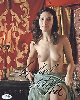 Game of Thrones Sibel Kekilli Autographed 8x10 Photo Nude Sexy Topless ACOA