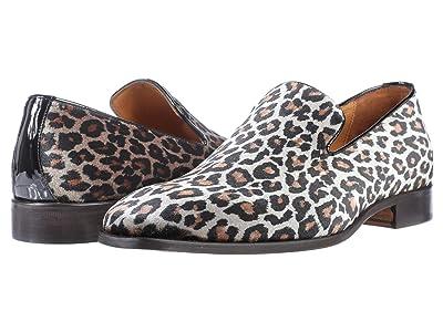 Massimo Matteo Smoking Slipper (Leopard) Men