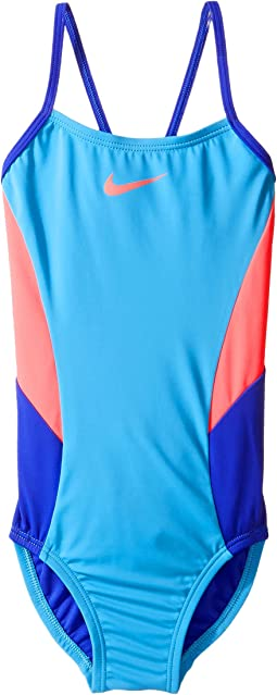 Color Surge V-Back One-Piece Swimsuit (Little Kids/Big Kids)