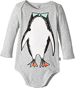 Stella McCartney Kids - Binky Penguin Print Body (Infant)
