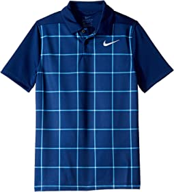 Dry Grid Print Polo (Little Kids/Big Kids)