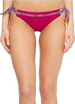 Nanette Lepore - Cha Cha Cha Vamp Tie Side Hipster Bikini Bottom