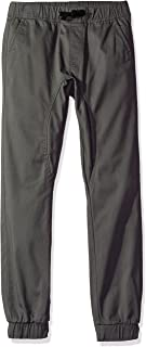 SOUTHPOLE Boy's Basic Stretch Twill Jogger Pants