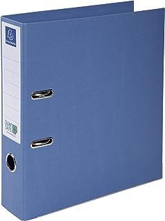 Exacompta - Réf. 53222E - 1 Classeur à levier A4 Prem'Touch Clean'Safe - Dos de 70 mm - Mécanique 75 mm - Dimensions extér...