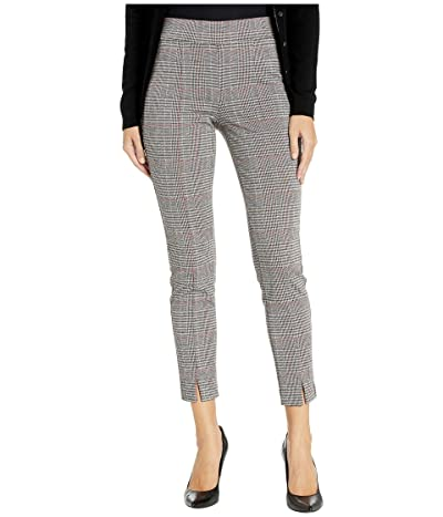 NYDJ Basic Leggings with Front Slit in Winchester Plaid (Winchester Plaid) Women