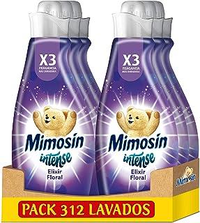 Mimosín Intense Suavizante Elixir Floral 52 Lavados 870 ml - Pack de 6