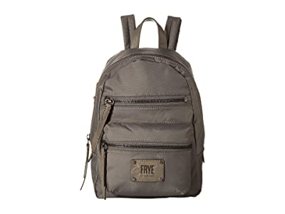 Frye Ivy Mini Backpack (Matte Grey) Backpack Bags