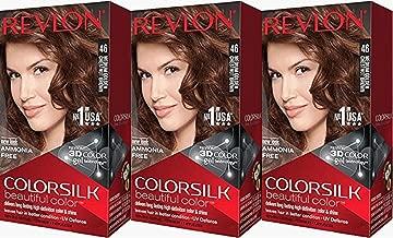 Best revlon colorsilk permanent color medium golden chestnut brown 46 Reviews