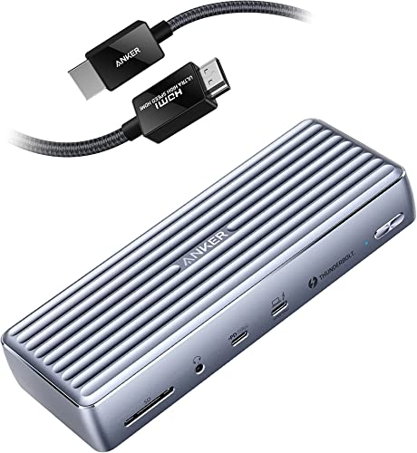 high quality Anker 8K@60Hz HDMI discount Cable + high quality Anker Apex 12-in-1 Thunderbolt 4 Dock outlet sale