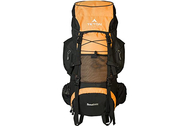 TETON Sports Scout 3400 Internal Frame Backpack  High-Performance Backpack  for Backpacking 7950fcd91175a