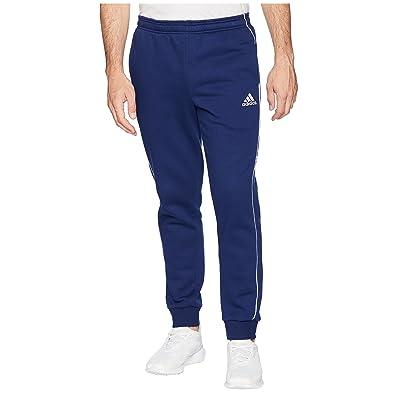adidas Core 18 Sweatpants (Dark Blue/White) Men